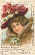SCHÖPPENSTEDT - 1902 , Junge Frau - Greetings From...
