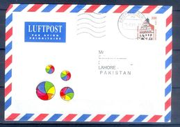 D410- Postal Used Cover Post From Germany To Pakistan. - Germany