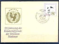 D414- FDC Of Germany. UNICEF. - Germany