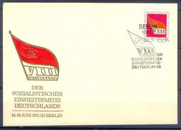 D415- FDC Of Germany. Flag. - Germany