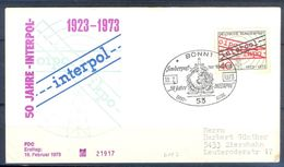 D417- Postal Used FDC Of Germany. - Germany
