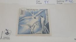 LOT 357741 TIMBRE DE MONACO NEUF** N°55 VALEUR 42 EUROS  LUXE - Luftfahrt