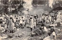 HAITI - Topo / Kenscoff - Le Marché -  Beau Cliché Animé - Léger Défaut - Haïti