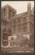 Peterborough Cathedral, Northamptonshire, C.1930s - King's Lodging RP Postcard - Northamptonshire