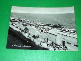 Cartolina Termoli ( Campobasso ) - Spiaggia 1953 - Campobasso