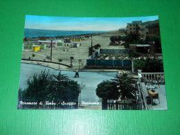 Cartolina Miramare Di Rimini - Spiaggia - Panorama 1960 - Rimini