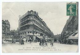 Lille - Rue Faidherbe - Dans Le Fond, La Gare - Lille