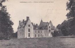 Carte 1910 CELLETTES / CHATEAU DE BOUSSEUIL , Façade Nord - France
