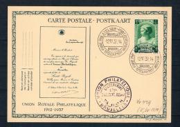 Belgien 1937 Postkarte - Belgien