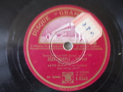 78T - Deep Purple And Begin The Beguine By Artie Shaw Fox Trot - 78 T - Disques Pour Gramophone