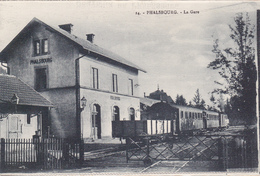 CPA   PHALSBOURG 57  La Gare - Phalsbourg