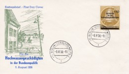 FDC  9-8-56 Hochwasser - FDC: Covers