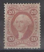 USA - 20c Washington Internal Revenue Inland Exchange - Fiscaux