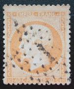 France - YT 23 OBLITERE (1862) Napoléon III. Légende EMPIRE FRANC - OBLITERE SANS GOMME - 1862 Napoléon III