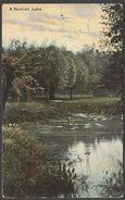 A Kentish Lake, Kent, 1904 - Milton Postcard - England