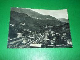 Cartolina Pracchia - Stazione Ferroviaria 1953 - Pistoia