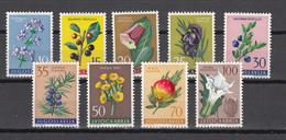 Yugoslavia 1959,9V,bloemen,flowers,fleurs,blumen,compl Set, MNH/Postfris(E3870) - Planten