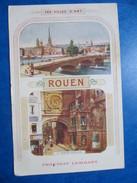 SEINE MARITIME   76     ROUEN   -  PUB CHOCOLAT LOMBART   1 TROU DE VER BAS - Rouen