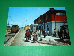 Cartolina Tronzano Vercellese - Stazione Ferroviaria 1965 Ca - Vercelli