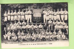 LA TOUR Du PIN - L' ALERTE , S.A.G.  - Association De Gymnastique 1922 - TBE - Ed. Jourdan - 2 Scans - La Tour-du-Pin