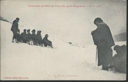 CPA5137 HAUTES PYRENEES PAYOLLE Concours De Skis Près Bagnères - Andere Gemeenten
