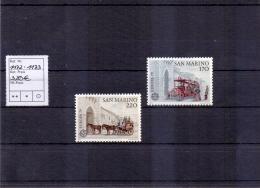 San Marino - Europa: Europa Geschichte Des Post- Und Fernmeldewesens 1979 (**/mnh) - Nuevos