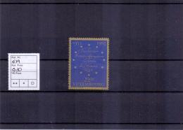 Luxemburg - Europäische Konvention Für Menschenrechte 1963 (**/MNH) - Lussemburgo