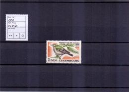 Luxemburg - Vogelkunde Und Vogelschutz 1970 (**/MNH) - Lussemburgo