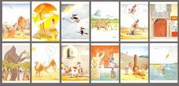 Lot De 12 Cartes Vierges : Illustrations De Milon - Humour Coquin Cochon érotique Erotica - Lot Scanné - Humour