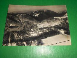 Cartolina Monte Terminillo  Pian De' Valli Dalla Stazione Superiore Funivia 1950 - Rieti