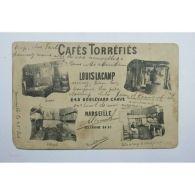 CPA (13)  CAFES TORREFIES LOUIS LACAMP 248 BD CHAVE MARSEILLE [13D006 FR-LADG] - Non Classés