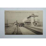 CPA (13)  La Gare De Martigues - Arrivée Du Train – Ligne Miramas Estaque [13D00 - Non Classés