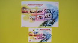 Macao BF N° 132 Et Bf N° 1174 à 1179   50 ème Grand Prix De Macao, Neuf ** , TBE - 1999-... Région Administrative Chinoise