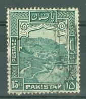 Pakistan: 1948/57   Pictorial    SG42b    15R    [Perf: 13]      Used - Pakistan