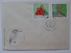 Environmental / Nature Protection / Birds / FDC / Poland - Unclassified