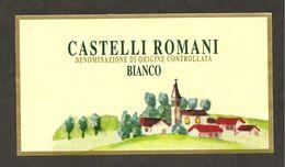 ITALIA - Etichetta Vino CASTELLI ROMANI Doc  Bianco Del LAZIO - Chiesa - Witte Wijn