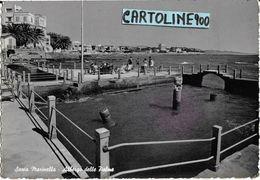 Lazio-roma-s.marinella Veduta Albergo Delle Palme Animata Anni 50 - Altre Città