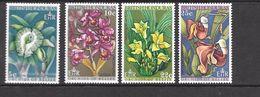 British Honduras Mi 223-226 MNH 1969 Orchids / Flowers - Honduras Britannico (...-1970)