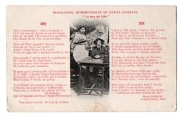 (Normandie) 040, Monologues Humouristiques En Patois Normand, Hermice, Le Sou De Café, D'un Carnet - Basse-Normandie