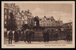 MOOIE CPA - ROTTERDAM - MONUMENT ERASMUS - Niet Courant - Rotterdam
