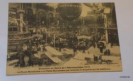 """Souvenir Du Salon De L'aéronautique 1910-""""Les Pneus Hutchinson ...sont Les Meilleurs"""" - Exhibitions"""
