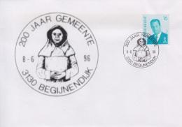 Enveloppe (1996-06-08, 3130 Begijnendijk) - Statue De ' Begga ' - 04 - Andere