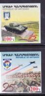 Armenien / Armenie / Armenia Karabakh 2017, 25th Ann. Liberation Shushi And Artsakh Army Self-adhesive - MNH ** - Armenia