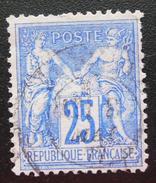 France - YT 78 OBLITERE (1876-78) Groupe A. Paix Et Commerce Dit Type Sage - OBLITERE SANS GOMME - 1876-1878 Sage (Type I)
