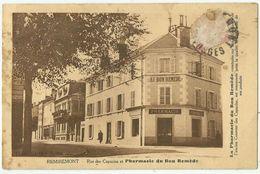 Remiremont (88 - Vosges) Rue Des Capucins . Pharmacie Du Bon Remède - Remiremont