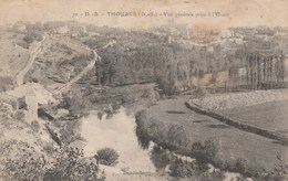 THOUARS VUE GENERALE PRISE A L OUEST - Thouars