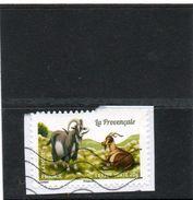 FRANCE   Lettre Verte 20 G    2015   Y&T :1106    Adhésif   Sur Fragment Oblitéré - Adhesive Stamps