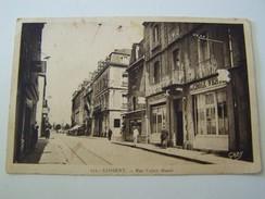 T28  LORIENT Rue Victor Massé  ( Restaurant La Croix Verte) - Lorient