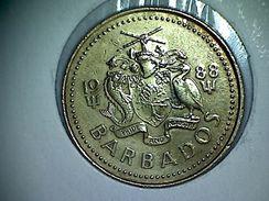 Barbados 5 Cents 1988 - Barbados