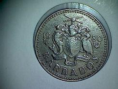 Barbados 25 Cents 1980 - Barbados